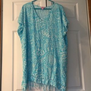 Lilly Pulitzer swim coverup